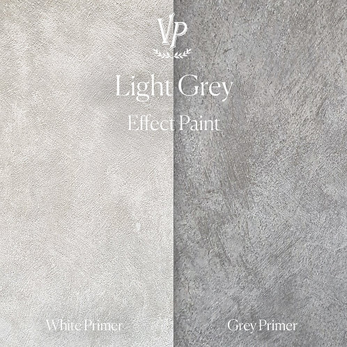 Light Grey -  Effect Paint die Strukturfarbe von Vintage Paint