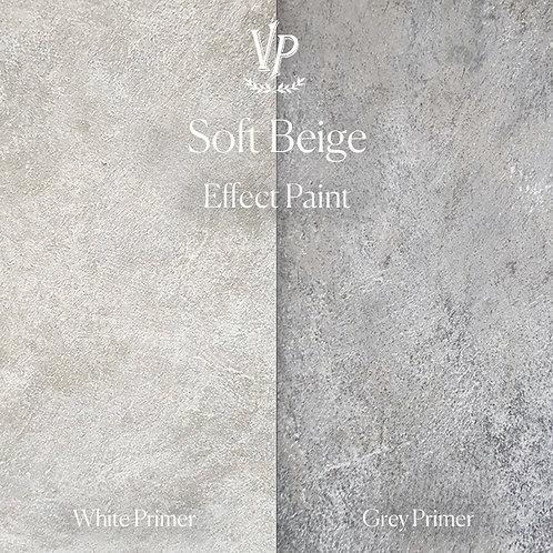 Soft Beige -  Effect Paint die Strukturfarbe von Vintage Paint
