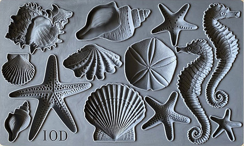 IOD Mould Sea Shells
