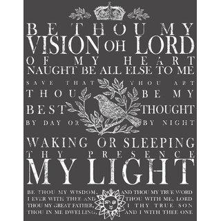 """IOD Transfer """"Be Thou My Visions groß"""