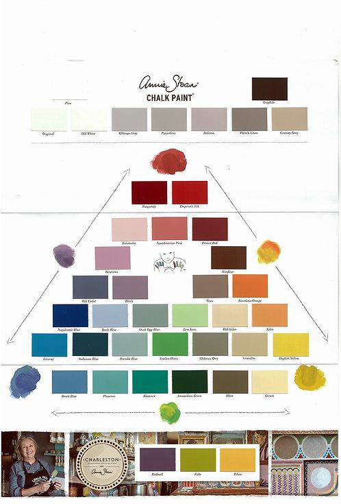Farbkarte - Annie Sloan Kreidefarbe
