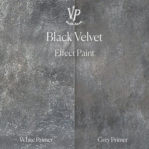 Black Velvet -  Effect Paint die Strukturfarbe von Vintage Paint