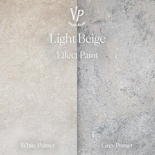 Light Beige -  Effect Paint die Strukturfarbe von Vintage Paint