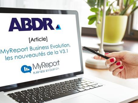 Business Intelligence : MyReport BE, les nouveautés de la V3.1