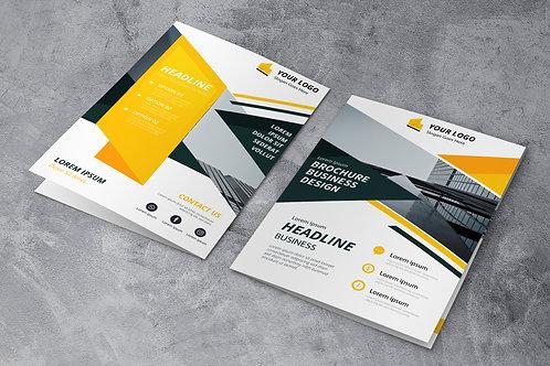 Plaquette - Brochure (2 ou 3 volets)