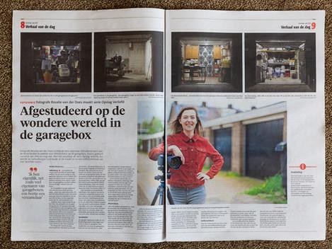 Interview in het Leidsch Dagblad