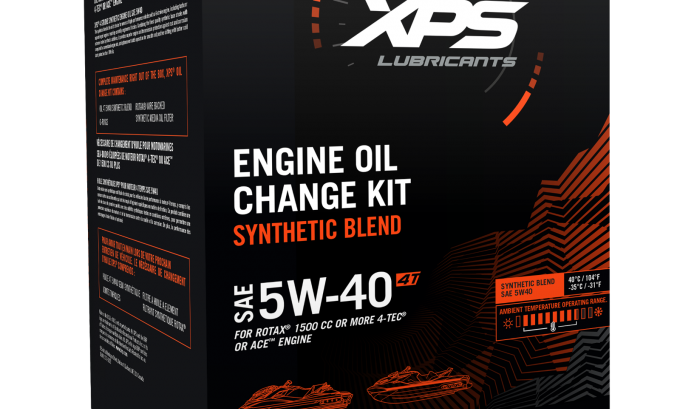 4T 5W-40 Synthetic Blend Oil Change Kit For Rotax 4tec