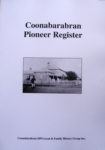 Coonabarabran Pioneer Register V1