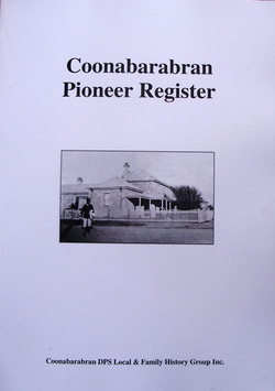 Coonabarabran Pioneer Register V1