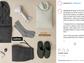 COS shares travel essentials just in time for holidays