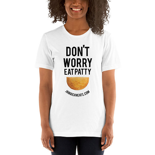 Dont worry Eat happy white T-Shirt