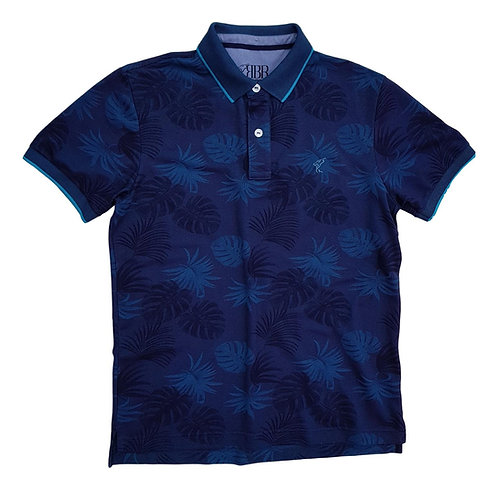 Polo Floral TurboStyle Series - Racing Brand