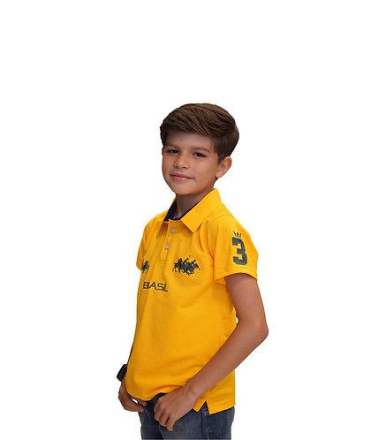 Polo Brasil Equipe Infantil - Polo Collection