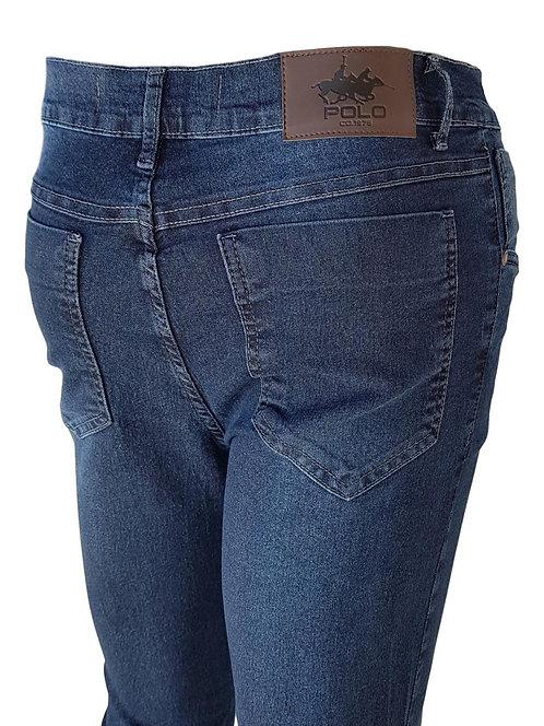 Calça Jeans Marine Blue Dye - Polo Jeans 75 Slim Stretch Denim