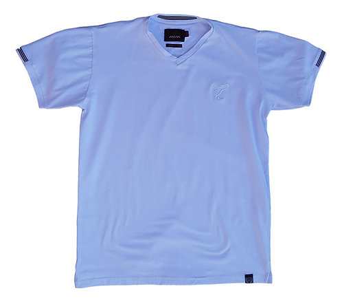 Camiseta Gola-V Plus Size - Racing Brand