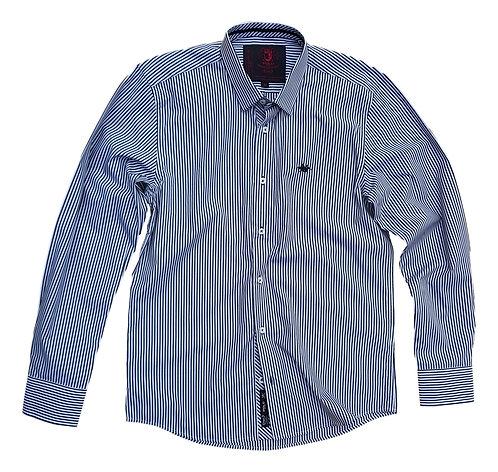 Camisa Black Label Listrada - Polo Collection