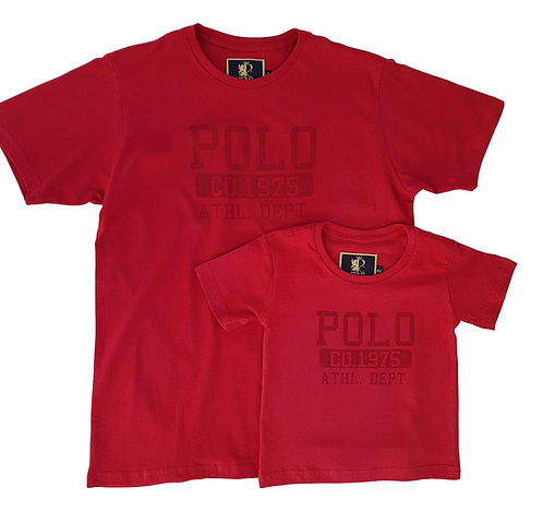 Kit Pai e Filho Camiseta - Polo Collection