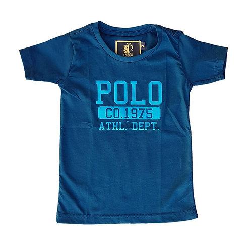 Camiseta Infantil Athl.Dept.1975 - Polo Collection