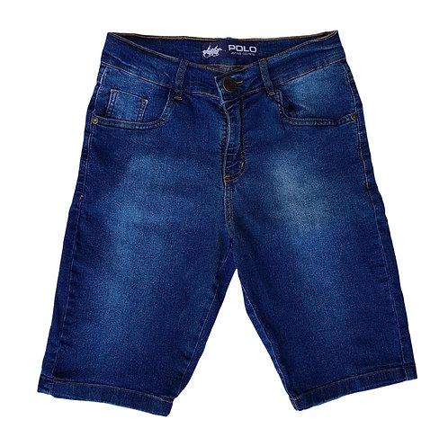 Bermuda Jeans  Dye - Polo Jeans 75 Slim Stretch Denim