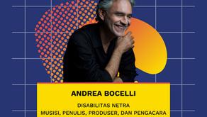 Andrea Bocelli Seorang Disabilitas Netra yang Sukses dari Pengacara hingga Musisi Terkenal di Dunia