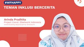 Arina Pradhita, Project Coordinator DNetwork Indonesia