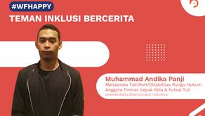 Muhammad Andika Panji, Pemain Timnas Sepak Bola dan Futsal Tuli Indonesia