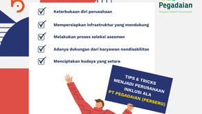 Tips dan Tricks Jadi Perusahaan Inklusi Ala PT Pegadaian (Persero)