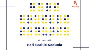 4 Januari Hari Braille Sedunia
