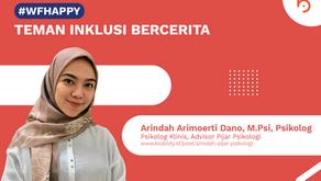 Arindah Arimoerti Dano, M.Psi, Psikolog - Psikolog Klinis dan Advisor Pijar Psikologi