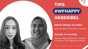 Cerita #WFHappy Guru Anak Berkebutuhan Khusus
