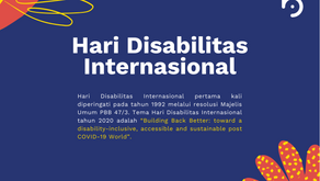 "Hari Disabilitas Internasional: ""Not All Disabilities Are Visible"""