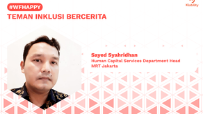 Sayed Syahridhan, Human Capital Services Department Head MRT Jakarta