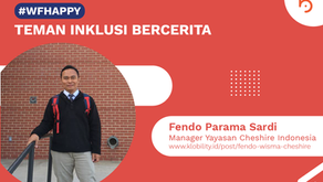 Fendo Parama Sardi, Manager Yayasan Cheshire Indonesia