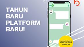 Klobility Punya Platform Baru: WhatsApp Group Disabilitas