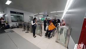 Fasilitas Ramah Disabilitas di MRT Jakarta