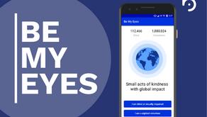 Cara menggunakan Aplikasi Be My Eyes