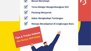 Tips & Trick Sukses Ala Surya Sahetapy