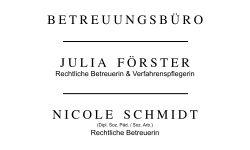 Betreuungsbüro J. Förster N. Schmidt | NØRR DESIGN MV