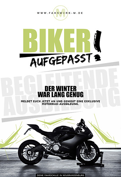 Flyer DIN A6 | NØRR DESIGN MV