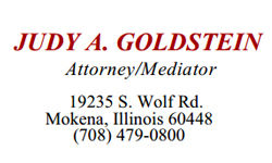 Judy Goldstein Attorney/Mediator