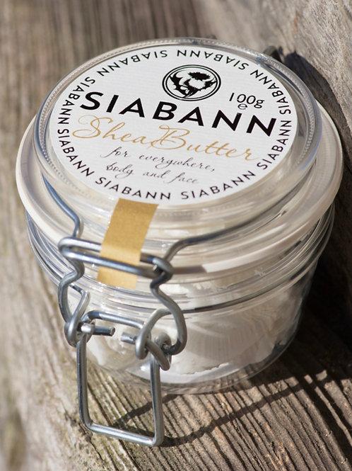 Shea butter in kilner jar