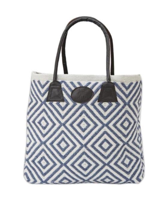 Weaver Green - Navy Bag