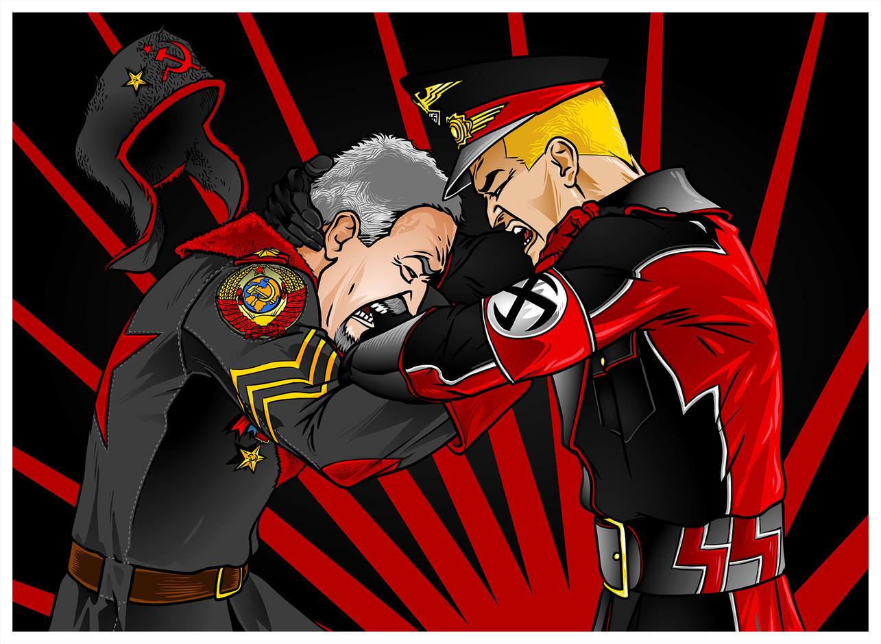Nazi VS Commie