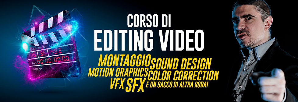 Corso di Editing Video - Elia Cristofoli - Solingo.it