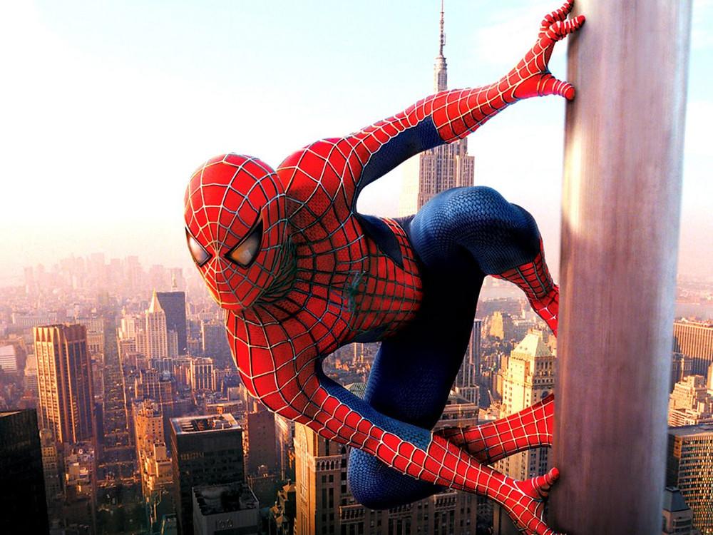 Spiderman, di Sam Raimi, 2002.