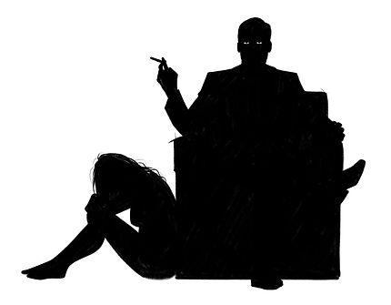 """Uomini Terribili E Come Evitarli - """"Lo Psicopatico"""" illustrazione di Elia Cristofoli"""