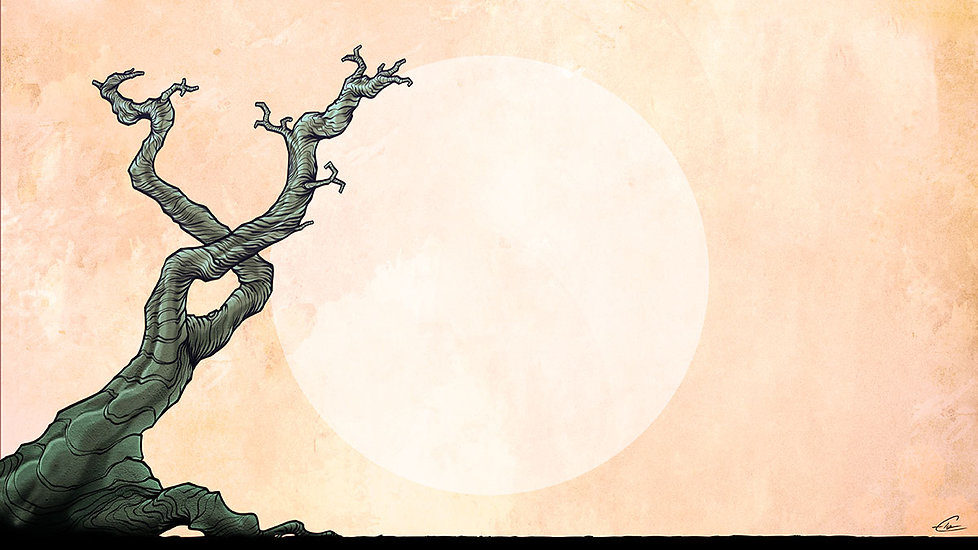 Albero Solingo - illustrazione di Elia Cristofoli