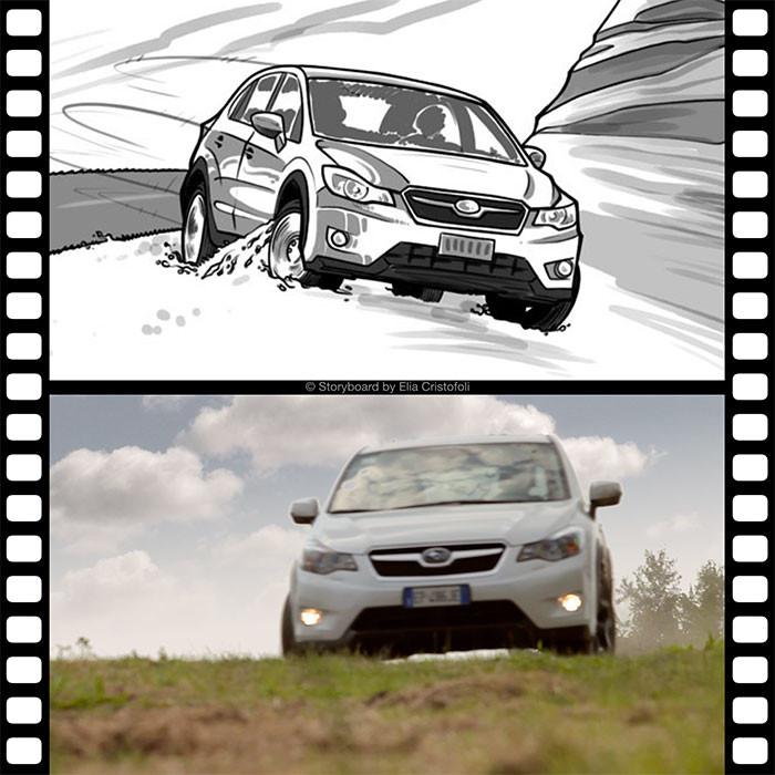 Subaru spot scena 9