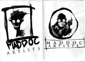 Maddoc Artist logo sketch