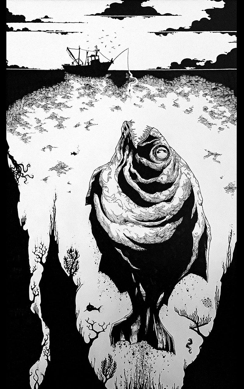 Piranha Paura by Elia Cristofoli